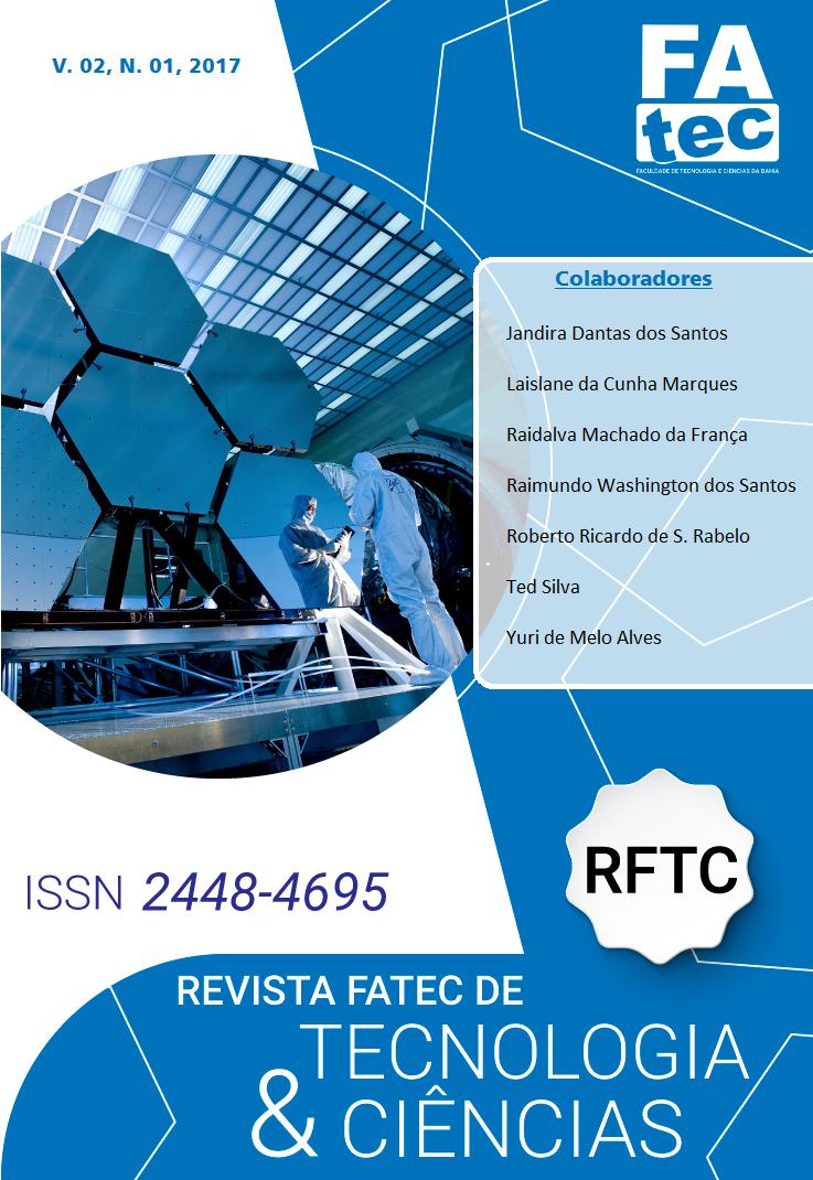 Visualizar v. 2 n. 1 (2017): Revista Fatec de Tecnologia e Ciências